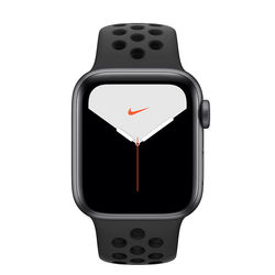 Apple Watch Series 5 40mm Nike Space Gray Aluminum Case with Nike Sport Band, GPS