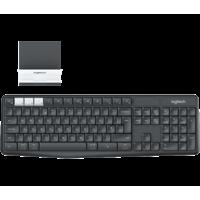 Logitech K375s Multi-Device Wireless Keyboard & Mobile Device Stand