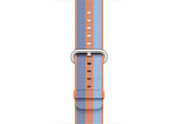 Apple 38mm Orange Woven Nylon Band