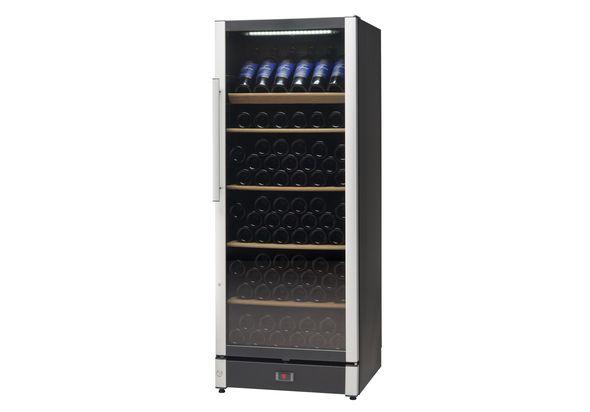 Vestfrost Beverage Cooler, 147 Bottles, W155BLACK