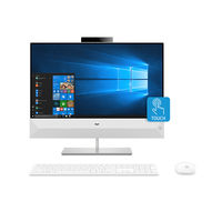 "HP Pavilion 24-XA0000NE i7 8GB, 1TB 2GB Graphic 23"" All-in-One Desktop, White"
