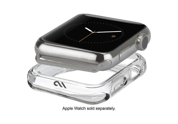 Case-Mate Naked Tough Bumper for Apple Watch 42mm, Clear
