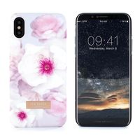 Proporta Ted Baker KAMALA Soft-Feel Shell for iPhone X, Chelsea Pale Grey