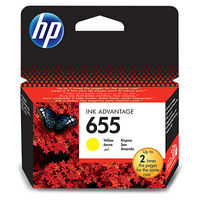 HP CZ112AE 655 Yellow Original Ink Advantage Cartridge