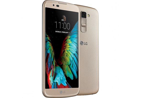 LG KG10 Smartphone, Gold