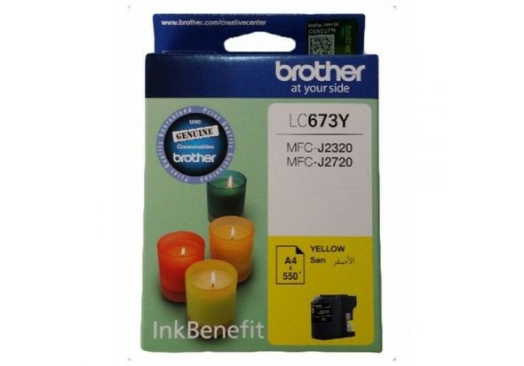 Brother High-Yield Ink Cartridge, Yellow