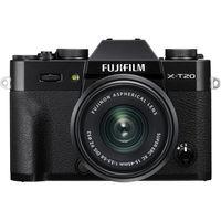 FUJIFILM X-T20 Mirrorless Digital Camera with XC 15-45mm Lens,  Black