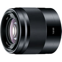 Sony SEL50F18 E 50mm f/1.8 OSS Lens, Black