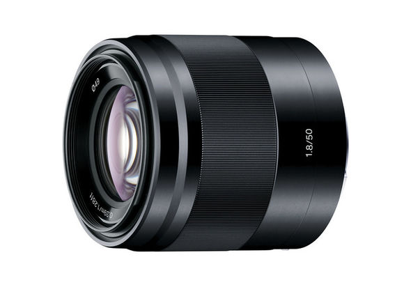 Sony SEL50F18 E 50mm f/1.8 OSS Lens, Black