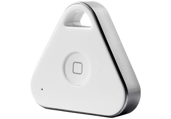 Nonda iHere 3.0 Rechargeable Bluetooth Key Finder, Silver