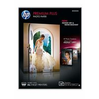HP Premium Plus Glossy Photo Paper-20 sht/13 x 18 cm