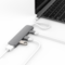 HyperDrive 4-in-1 USB-C Hub with 4K HDMI Support,  Gray
