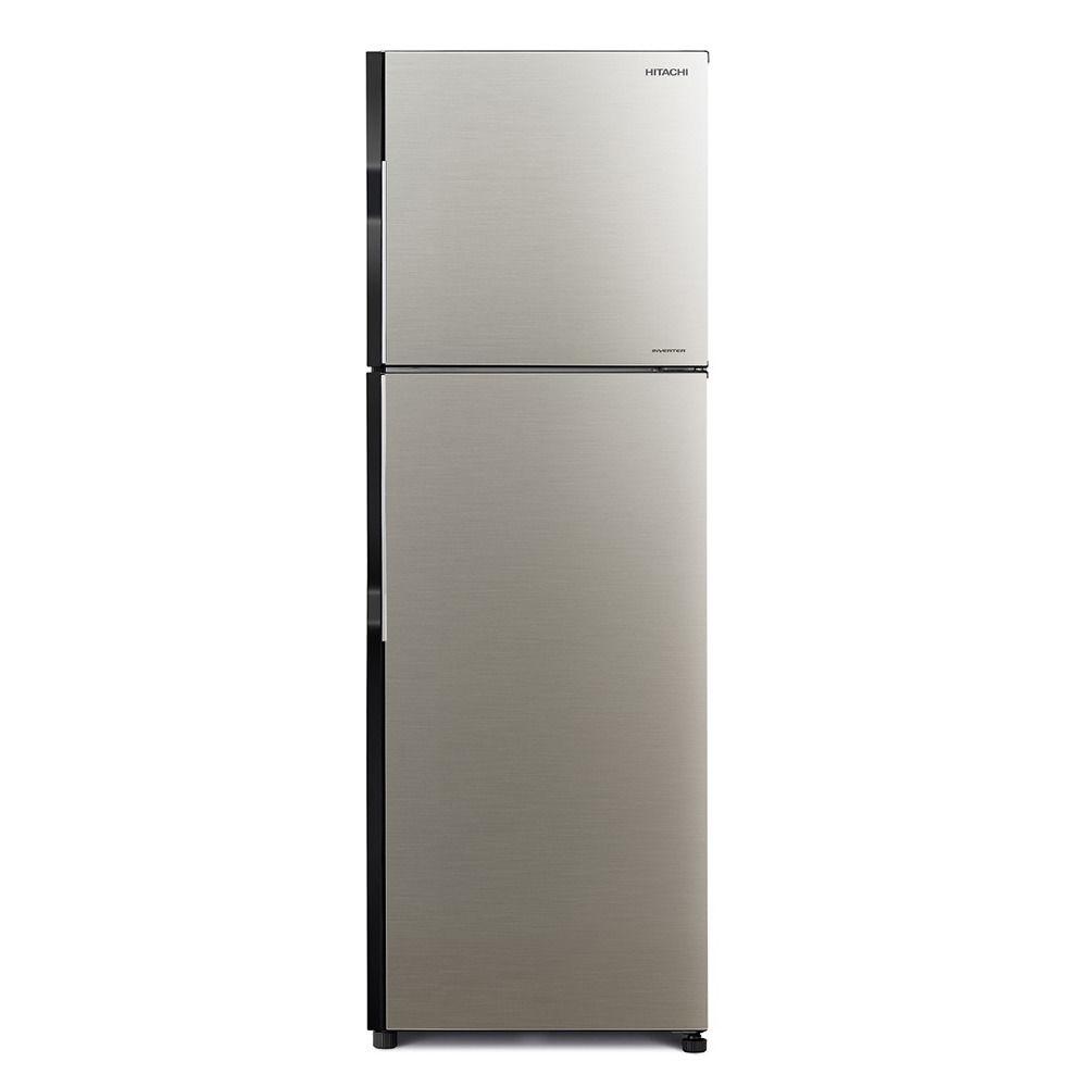 Hitachi RH380PUK7KBSL 380L Inverter Refrigerator, Brilliant Silver