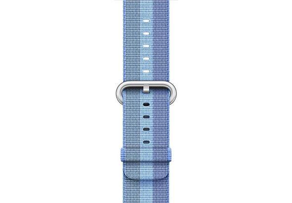 Apple 42mm Tahoe Blue Woven Nylon Band