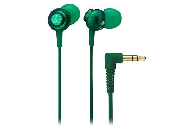 Audio Technica In-Ear Headphone ATH-CKL202 Green