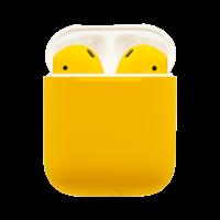 Customized Apple Airpods 2nd Gen by Switch, Matte,  Lamborghini Yellow