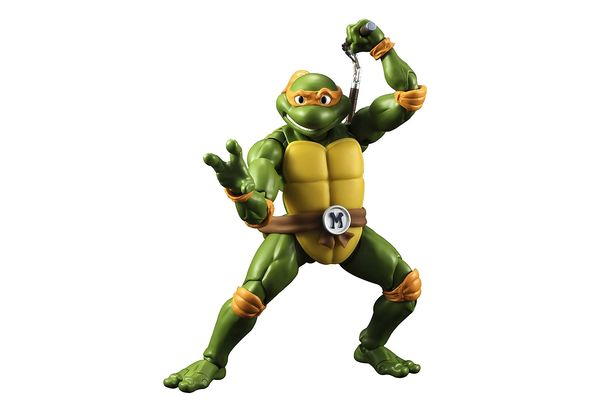 Comicave Studios S. H. Figuarts TMNT Teenage Mutant Ninja Turtles Michael Angelo