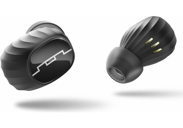 SOL Republic Amps Air True Wireless Bluetooth Earbuds, Black