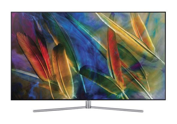 Samsung 55  QA55Q7FAM Flat 4K Smart QLED Television
