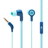 Wicked Audio Jekyll Earbuds With Mic, Blue Moon