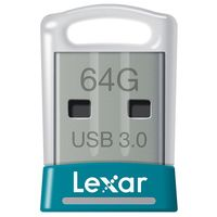 Lexar S45 64 GB Encrypted USB 3.0 Flash Drive Small