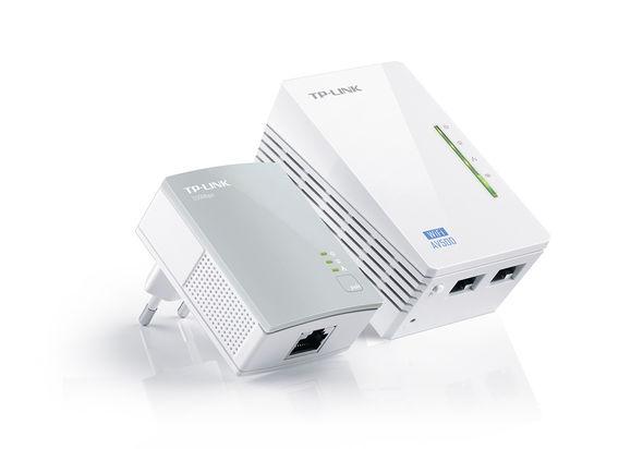 TP Link 300Mbps AV500 WiFi Powerline Extender Starter Kit