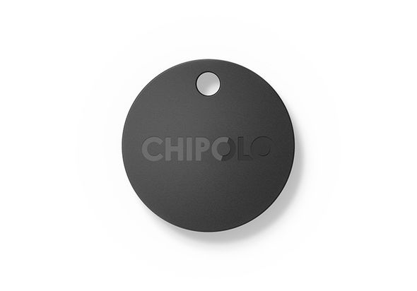 Chipolo bluetooth item tracker, Charcoal Black