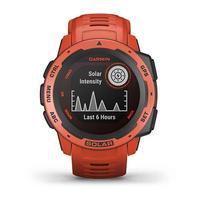 Garmin Instinct Outdoor GPS Watch, Flame Red