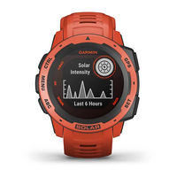 Garmin Instinct Outdoor GPS Watch, Flame Red