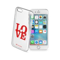 Cellularline STYLE Rubber Case For iPhone 6/6S, Love