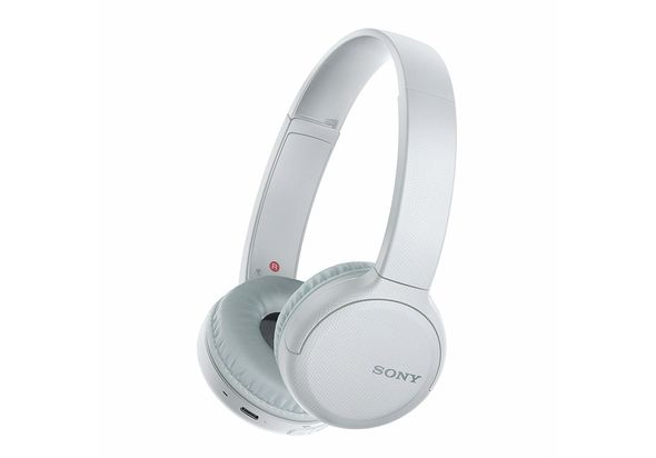 Sony WH-CH510 Wireless On-Ear Headphones,  White