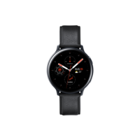 Samsung Galaxy Watch Active 2 44mm Stainless Steel,  Black