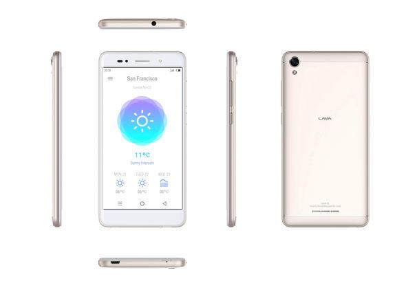 LAVA R1 Dual Sim Smartphone, Gold