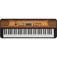 Yamaha PSR-E360MA Portable Keyboard, Mahogany Wood