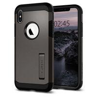 Spigen Tough Armor Case for iPhone XS, Gunmetal