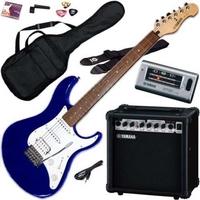 Yamaha EG112GPII MTU Steel String Electric Guitar Package, Metallic Blue