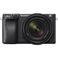 Sony Alpha a6400 Mirrorless Digital Camera with 18-135mm Lens, Black