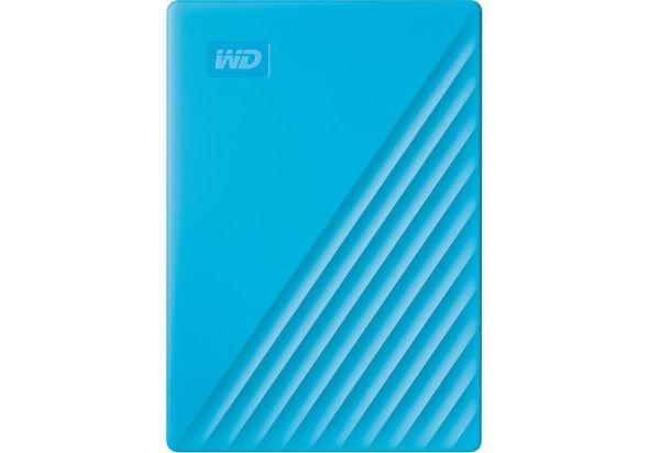 WD 4TB My Passport USB 3.2 Gen 1 External Hard Drive 2019, Sky Blue