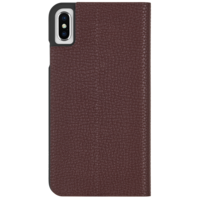 Case Mate Barely There Folio Brown Case for iPhone Xs