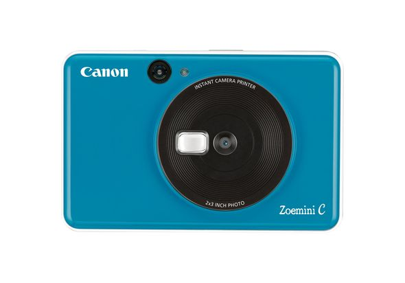 Canon Zoemini C Instant Camera Printer,  Seaside Blue