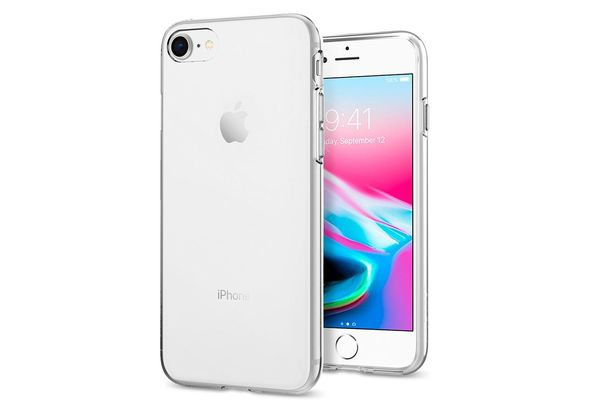Spigen iPhone 8 Case, Liquid Crystal