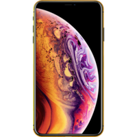 Switch Plated Gold Frame Apple iPhone XS Smartphone LTE,  Space Gray, 512 GB