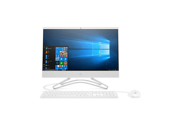 HP 22-C0015NE i3 4GB, 1TB 22  All-in-One Desktop, White