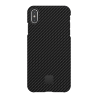 Happy Plugs Protective Case for iPhone XS Max, Carbon Fiber