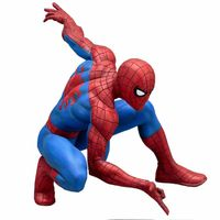 Comicave Studios marvel now+ ACE- the amazing spider+ AC0-man artfx statue