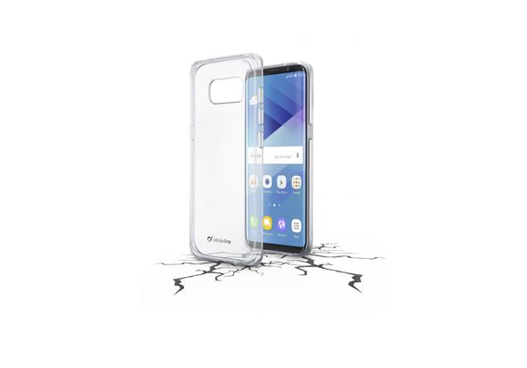 Cellularline Clear Duo High protection coupled case for Galaxy S8
