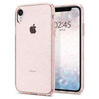 Spigen Liquid Crystal Glitter Case for iPhone XR, Rose Quartz