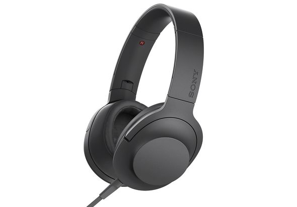 Sony Premium Hi-Res Stereo Headphones, Charcoal Black