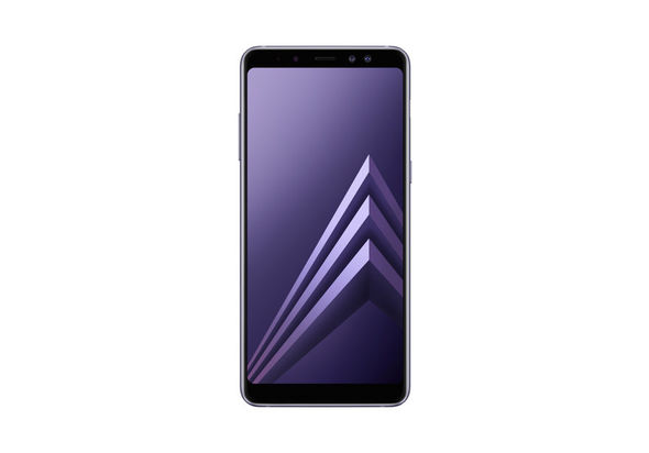 Samsung Galaxy A8+ 2018 Smartphone LTE, Orchid Gray