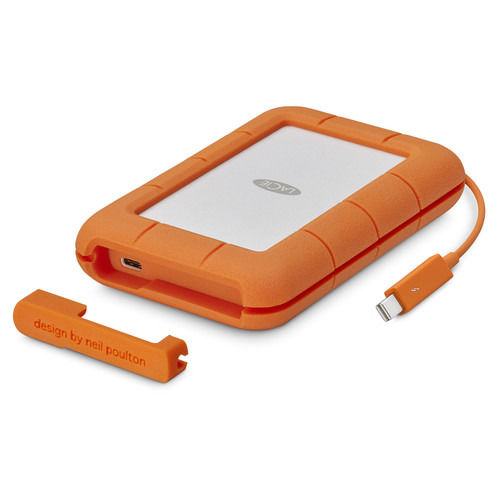 LaCie 2TB Rugged Thunderbolt / USB-C Mobile HDD
